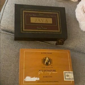 Two Cigar Boxes - Avo & Java
